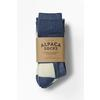 Alpacasocks ALPACASOCKS 2 PACK - BLUE/NATURAL