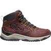 Keen INNATE X SHERPA LEATHER MID WP W Naiset - BURGUNDY/SHARK