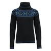 Devold ONA WOMAN ROUND SWEATER Naiset - INK