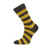 Bola EVERYDAY MERINO SOCK Unisex - BLACKYELLOW