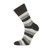 Bola EVERYDAY MERINO SOCK Unisex - BLACKWHITEGREY