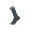 Sealskinz WATERPROOF WARM WEATHER MID LENGHT SOCK Unisex - GREY