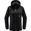 Haglöfs L.I.M JACKET WOMEN Naiset - TRUE BLACK