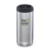 Klean Kanteen TKWIDE 355ML CAFE CAP - BRUSHED STAINLESS