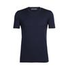 Icebreaker MENS TECH LITE SS CREWE Miehet - MIDNIGHT NAVY