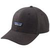 Patagonia TIN SHED HAT Unisex - P-6 LOGO: INK BLACK