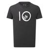 Tentree M TEN SS TEE Miehet - METEORITE BLACK HEATHER