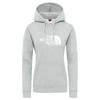 The North Face WOMEN'S DREW PEAK PULLOVER HOODIE Naiset - TNF LIGHT GREY HEATHER/TNF WHI