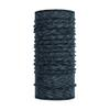 Buff LIGHTWEIGHT MERINO WOOL BUFF Unisex - GRAPHITE MULTI STRIPE
