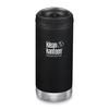 Klean Kanteen TKWIDE 355ML CAFE CAP - SHALE BLACK
