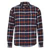 FRILUFTS TINNAHINCH  L/S SHIRT MEN Miehet - DARK SAPPHIRE/BOMBAY BROWN