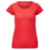 FRILUFTS TRANI T-SHIRT WOMEN Naiset - FIERY RED