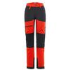Is Not Enough ATHENA TREKKING PRO PANTS Naiset - FIERY RED