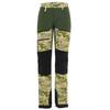 Is Not Enough ATHENA TREKKING PRO PANTS Naiset - AVOCADO CAMO