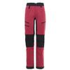 Is Not Enough ARETE ZIPOFF PANTS Naiset - RED BUD
