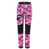 Is Not Enough MEDEA TREKKING PANTS Naiset - HELIOTROP CAMO