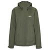 Tierra FLON RAIN JACKET W Naiset - HERBAL GREEN