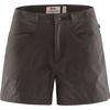 Fjällräven HIGH COAST LITE SHORTS W Naiset - DARK GREY