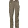 Fjällräven NIKKA TROUSERS CURVED W Naiset - LIGHT OLIVE