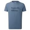 Tentree MEN' S BASICALLY HIKING CLASSIC T-SHIRT Miehet - SPRUCE BLUE