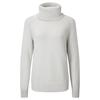Tentree WOMEN' S HIGHLINE WOOL TURTLENECK SWEATER Naiset - ELM WHITE HEATHER