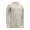 Devold NANSEN SWEATER CREW NECK Unisex - GREY MELANGE