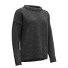 Devold NANSEN WOMAN SPLIT SEAM SWEATER Naiset - ANTHRACITE