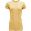 Devold EIKA WOMAN TEE Naiset - HONEY