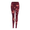 Devold CAMOFLOWER PANT Naiset - BEETROOT