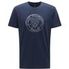 Haglöfs CAMP TEE MEN Miehet - TARN BLUE LOGO