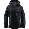 Haglöfs ASTRAL GTX JACKET MEN Miehet - TRUE BLACK