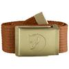 Fjällräven CANVAS BRASS BELT 4 CM Unisex - AUTUMN LEAF