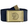 Fjällräven CANVAS BRASS BELT 4 CM Unisex - DARK NAVY