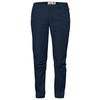 Fjällräven HIGH COAST TROUSERS W Naiset - NAVY