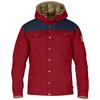 Fjällräven GREENLAND NO.1 DOWN JACKET Miehet - DEEP RED-DARK NAVY
