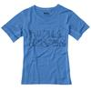 Fjällräven KIDS TRAIL T-SHIRT Lapset - UN BLUE