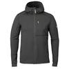 Fjällräven KEB FLEECE HOODIE M Miehet - DARK GREY-BLACK