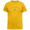 Fjällräven TREKKING EQUIPMENT T-SHIRT Miehet - WARM YELLOW