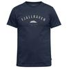 Fjällräven TREKKING EQUIPMENT T-SHIRT Miehet - DARK NAVY