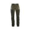 Fjällräven KEB TROUSERS W SHORT Naiset - DEEP FOREST-LAUREL GREEN