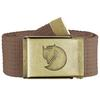 CANVAS BRASS BELT 4 CM. 1