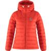 Fjällräven EXPEDITION PACK DOWN HOODIE W Naiset - TRUE RED