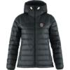 Fjällräven EXPEDITION PACK DOWN HOODIE W Naiset - BLACK