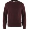Fjällräven GREENLAND RE-WOOL CREW NECK M Miehet - DARK GARNET