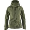 Fjällräven KEB JACKET W Naiset - GREEN CAMO-LAUREL GREEN
