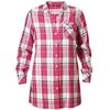 Tierra MOYIE CHECK TUNIC W Naiset - MOUNTAIN ROSE