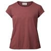 Tierra KAIPARO HEMP TEE (REGULAR) W Naiset - RED POPPY
