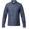 Tierra KAIPARO HEMP SHIRT M Miehet - ECLIPSE BLUE