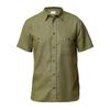 Tierra KAIPARO HEMP SHORT SLEEVE SHIRT M Miehet - OLIVE NIGHT