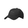 Tierra EMBROIDED ORGANIC COTTON 6 PANEL CAP Unisex - BLACK